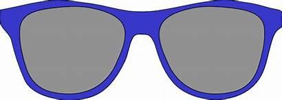 Sunglasses Clipart Clip Vector Wayfarer Cartoon Yellow