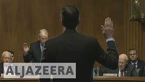 US: Democrats question Trump's dismissal of Comey - YouTube