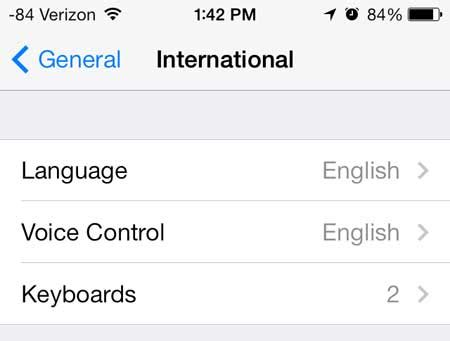 how to change language on iphone 4 how to change the language on the iphone 5 solve your tech