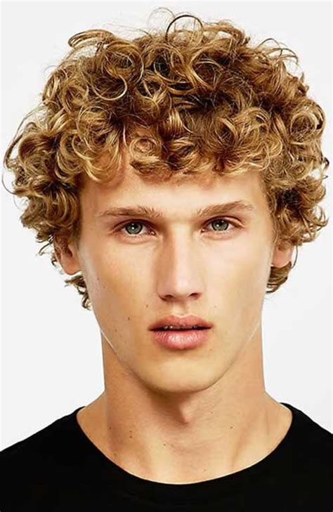 hairstyle ideas  men  curly hair mens