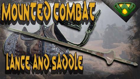 conan exiles saddle combat lance mounted