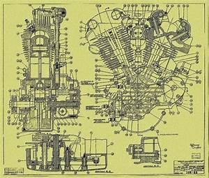 Schematic Of A Motorcycle Engine