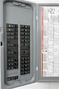 Circuit Breaker Directory Label