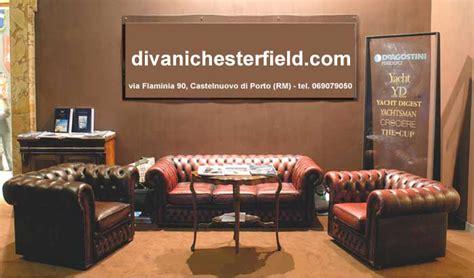 Poltrone Chesterfield Usate Vintage Su Divani Chester