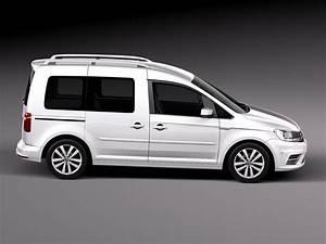 Volkswagen Caddy Van : volkswagen caddy passenger van 2016 3d model max obj 3ds fbx c4d lwo lw lws ~ Medecine-chirurgie-esthetiques.com Avis de Voitures