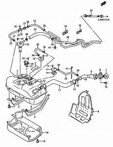 All Regions  Grand Vitara Xl-7  Ja627w  My 2002   Fuel  187 - Fuel Tank