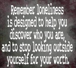 Motivational Quotes For Loneliness. QuotesGram