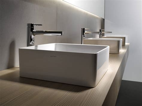 A More Modern Bathroom Trough Sink-http