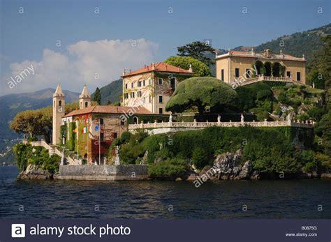 The Villa Del Balbianello In Lenno Lake Como Italy Stock