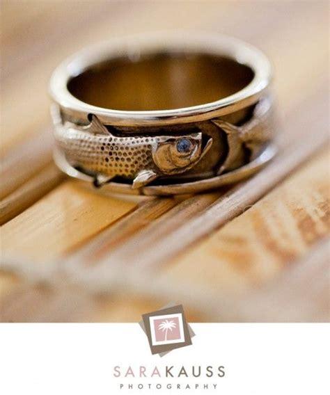 mens rings mens wedding bands fish