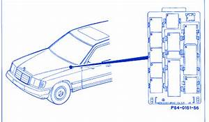 Mercedes D300 1997 Fuse Box  Block Circuit Breaker Diagram