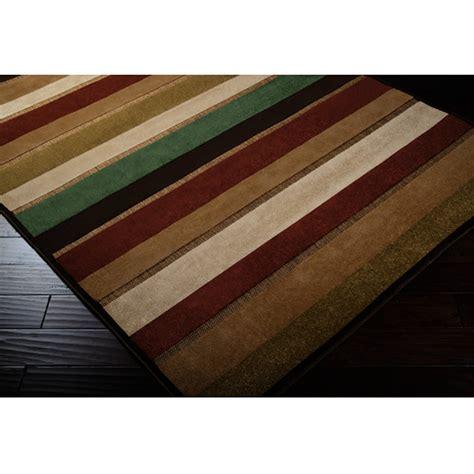 shop portera stripes outdoor rug 7 5 square surya rugs