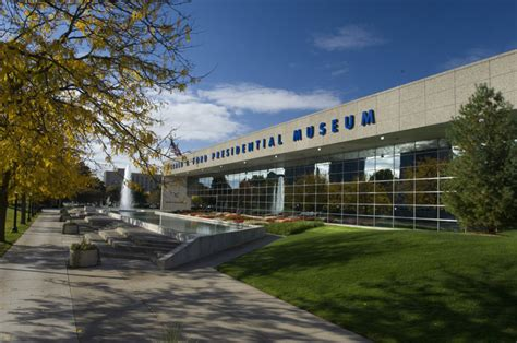 Gerald R Ford Museum by Commercial Roofing Grand Rapids Gerald R Ford Museum