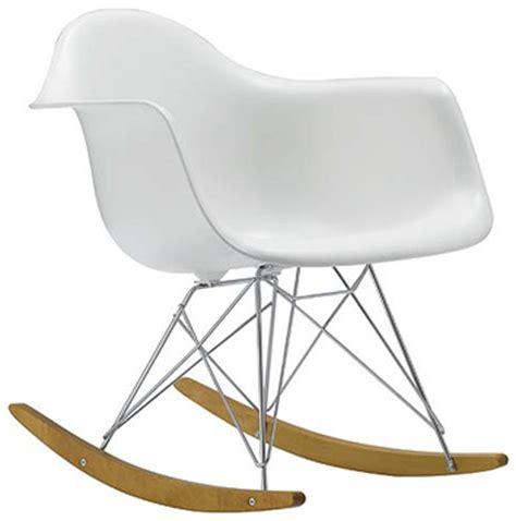 charles eames rocking chair eames dining chair polkadot