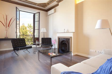 Furnished Bedroom Apartment Mid Term Rental In Barcelona