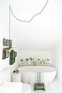 beau salle de bain 4m2 avec baignoire 2 bain sous pente With idee salle de bain 4m2