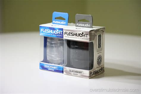 Review Fleshlight Quickshot Overstimulated