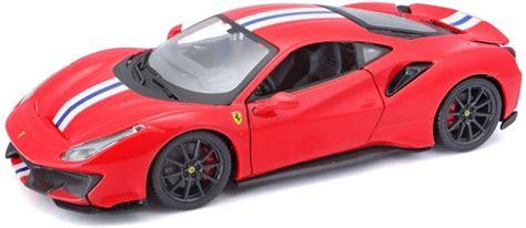 Welly 1:24 porsche 959 red diecast model sports racing car new in box. Bburago Ferrari 488 Pista sportautó 18-26026 - Játékautó, ki