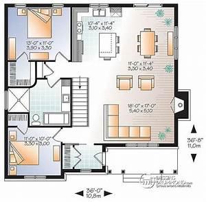 1000 idees sur le theme cuisine a aire ouverte sur With delightful plan de maison a etage 7 maison en bois sur mesure detail du plan de maison en