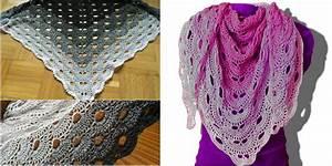 Virus Shawl Crochet – Free Pattern Crafts Ideas