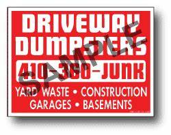plastic corrugated yard signs 24 x 18 one color single With individual letter yard signs