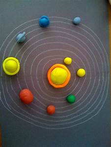 playdough solar system | the solar system | Pinterest