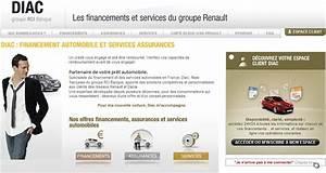 Diac Credit : cr dit diac rci banque en ligne simulation espace client ~ Gottalentnigeria.com Avis de Voitures
