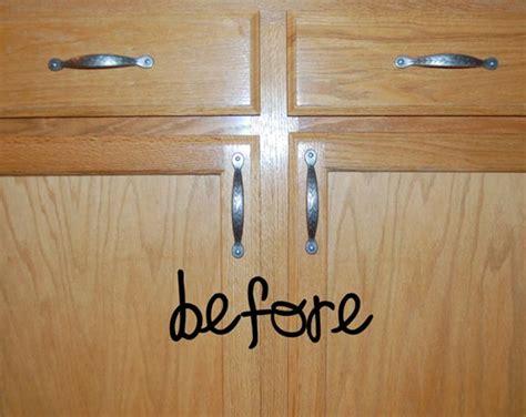updating kitchen cabinet doors remodelaholic builder grade cabinet upgraded tutorial 6681