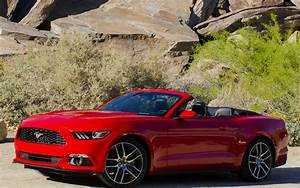 2015 Ford Mustang EcoBoost Convertible - Wallpapers and HD