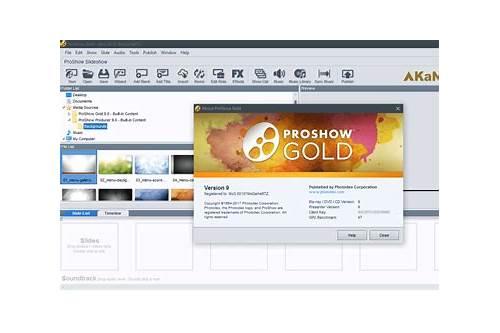photodex proshow gold full version free download