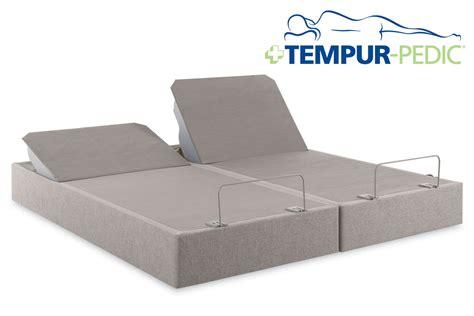 tempur up twin xl king split adjustable foundation