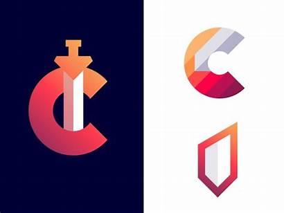 Letter Sword Logos Concept Company Games Creative