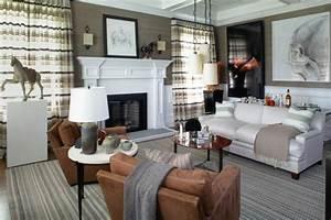 deco interieur salon gris et taupe contemporain ideeco With deco salon taupe et gris