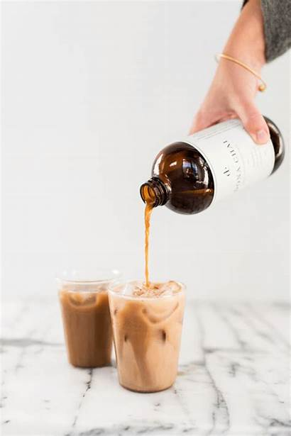Chai Tea Latte Recipe Popsicles Ombre Pouring