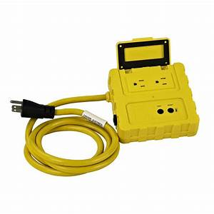 Ground Fault Circuit Interrupter W   Two 15 A Circuit