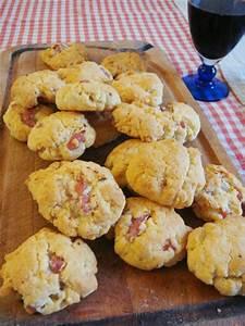Recette Apero Simple : biscuits aperitif aux lardons et au parmesan c 39 est tres ~ Nature-et-papiers.com Idées de Décoration