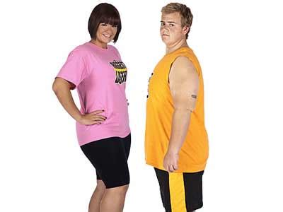 Daniel and Rebecca Daniel Wright's Biggest Loser Journey