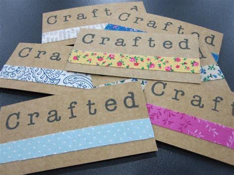 super cute handmade business cards craft show