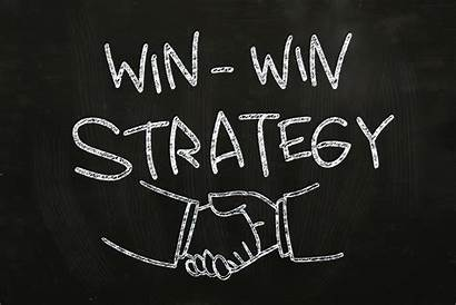 Win Strategy Quotes Chalk Situation Blackboard Hand