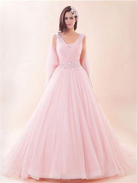 pink grecian ball gown evening dress prom dress