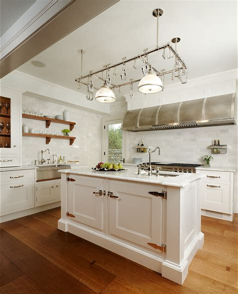 kitchen island with pot rack pot rack kitchen traditional with hanging pot rack dark wood counter stools