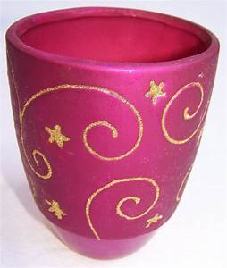 Deko Für Vasen : deko gef e vasen f r gestecke kerzen blumen 5 gr en lila gold ebay ~ Indierocktalk.com Haus und Dekorationen