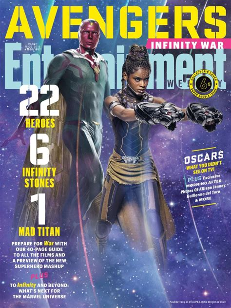 mcu heroes featured  entertainment weekly infinity