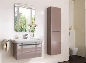 armoire salle de bain taupe