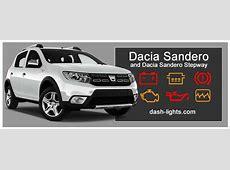 Dacia Sandero Sandero Stepway Dashboard Warning lights
