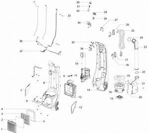 Electrolux El8807a Upright Vacuum Parts