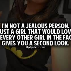 Quotes About Girls Being Jealous