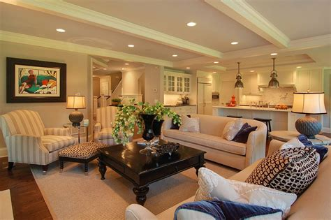 square coffee tables Family Room Traditional with artwork
