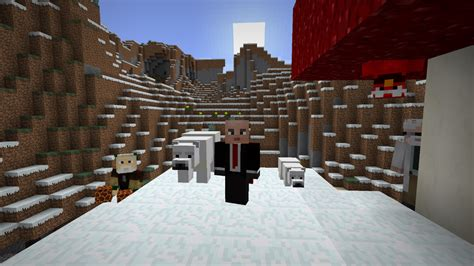 minecraft  update adds  polar  desert content vg