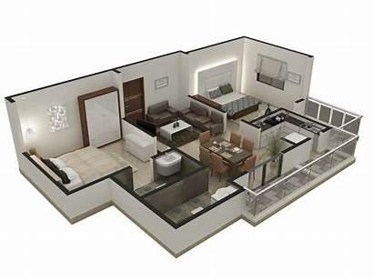 Plan Floor Plans Interior Building Architecture Isometric